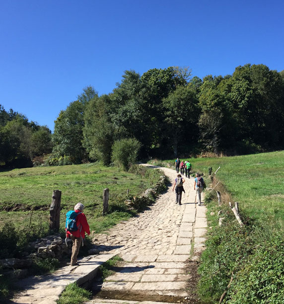 Women's Travel Club Camino Trail Walking Tour