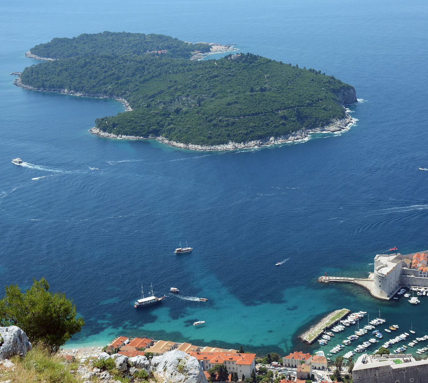 Women's Travel Club Croatia Tour - Lokrum Island