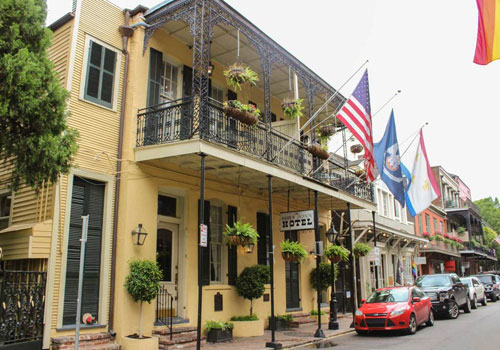 Most Haunted Hotels in New Orleans Andrew Jackson
