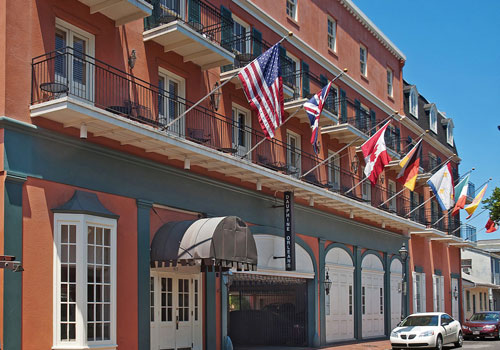 Most Haunted Hotels in New Orleans Dauphine Orleans