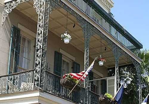 Most Haunted Hotels in New Orleans Lafitte Guest House